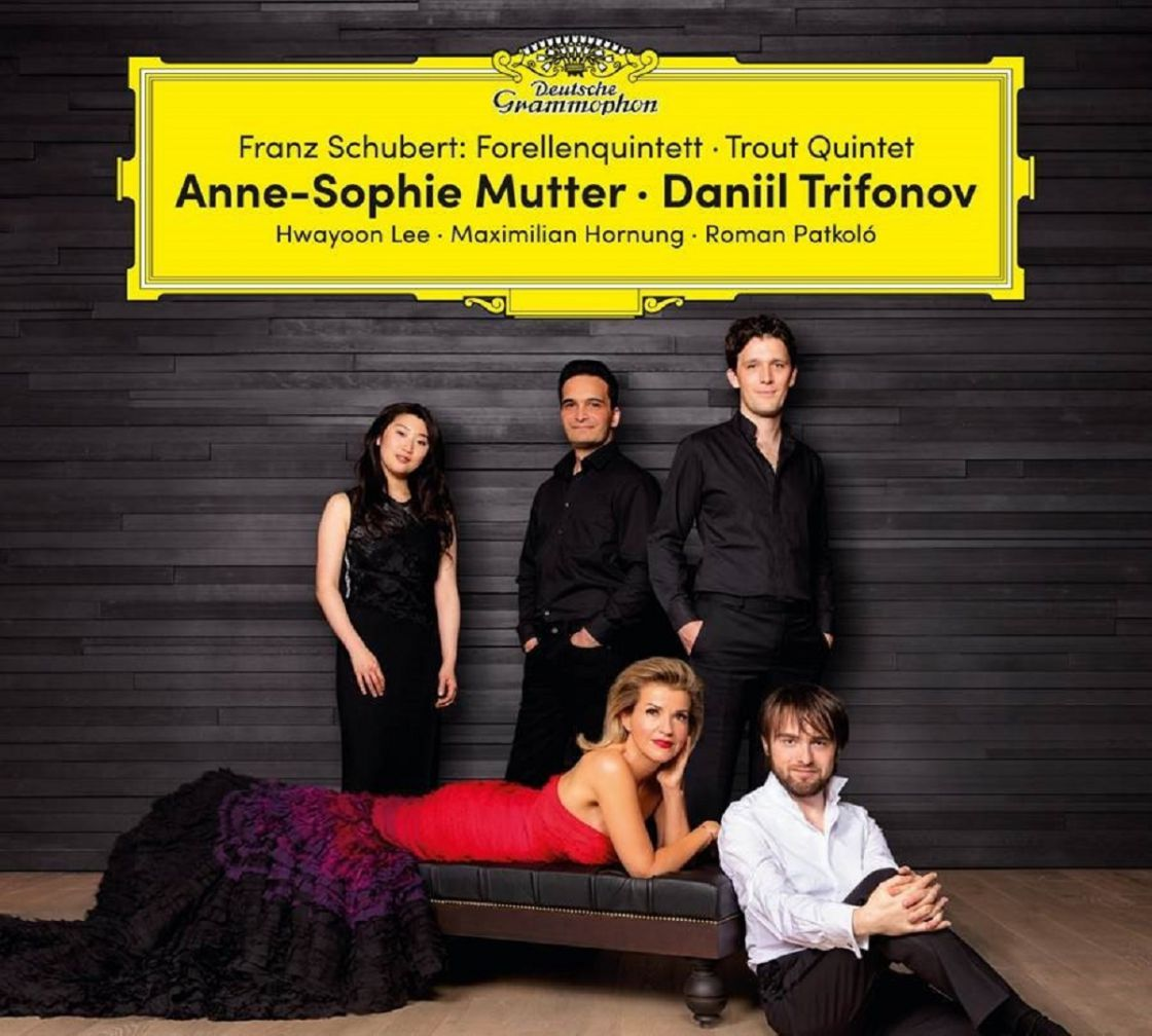 Anne-Sophie Mutter & Daniil Trifonov - Schubert