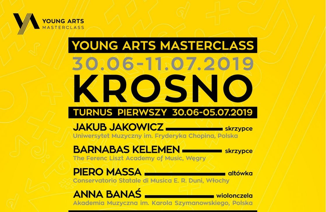YOUNG ARTS MASTERCLASS
