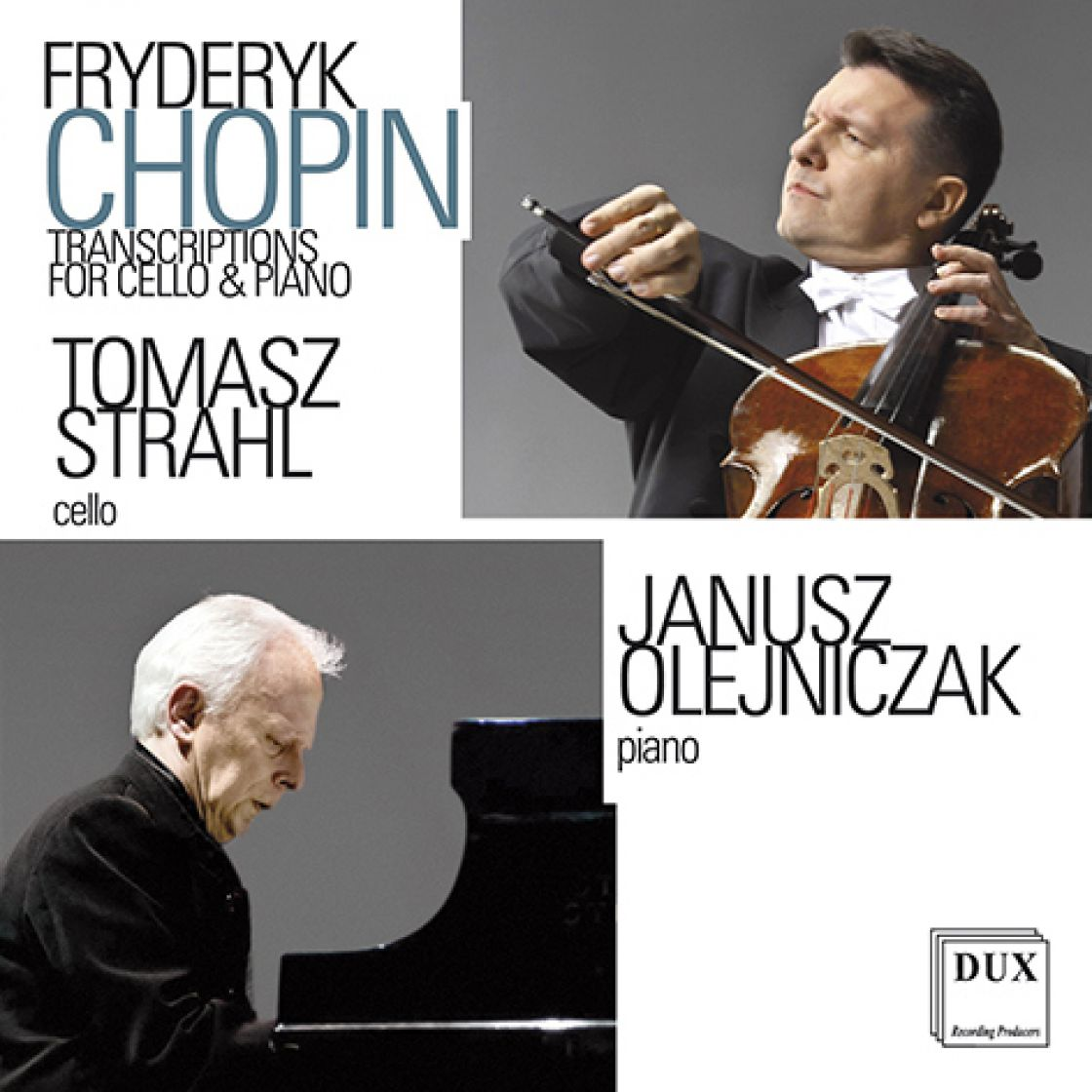 Fryderyk Chopin - Transcriptions for cello & piano