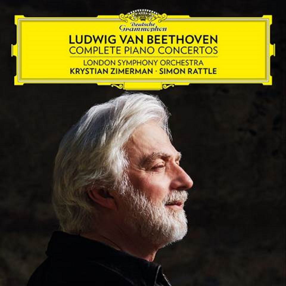 KRYSTIAN ZIMERMAN & SIR SIMON RATTLE/LSO - BEETHOVEN COMPLETE PIANO CONCERTOS