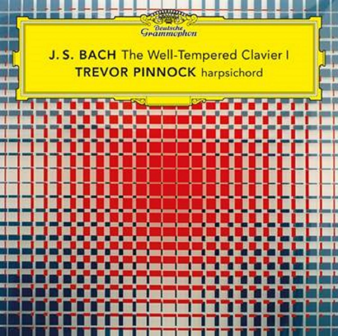 J. S. BACH - The Well-Tempered Clavier I  - TREVOR PINNOCK,klawesyn
