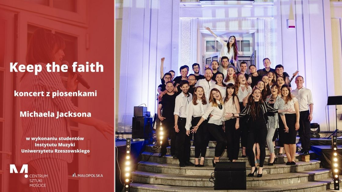 Keep The Faith - koncert z piosenkami Michaela Jacksona