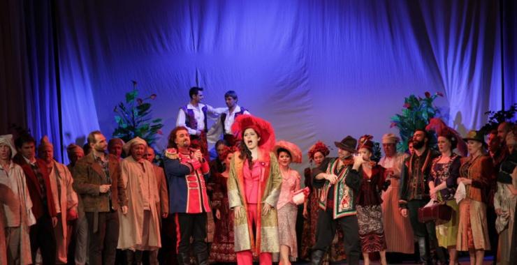 Hrabina Marica na Festiwalu im. Adama Didura w Sanoku