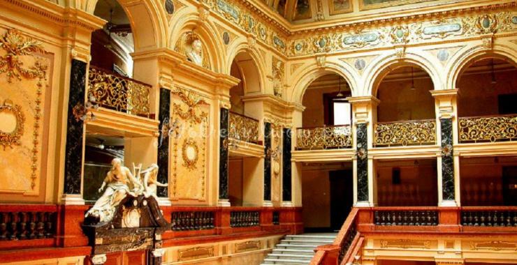 Gmach Opery Lwowskiej został ozdobiony wyjątkowymi dziełami sztuki