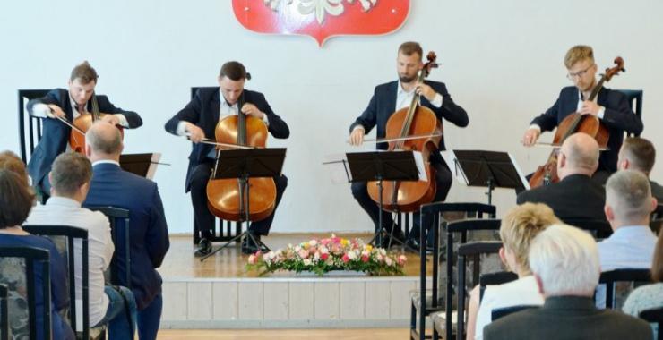 Brzmienie czterech wiolonczel grających razem jest czymś wyjątkowym